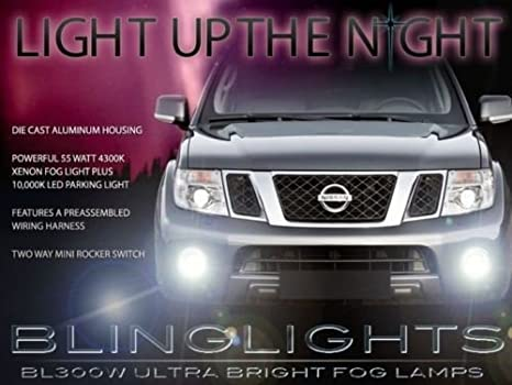 Left Right LED Front Fog Light Bumper Driving Lamp For Nissan Frontier 2005-2019