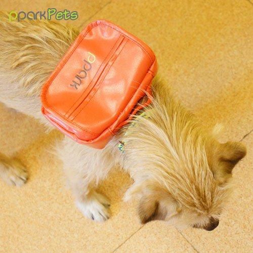 [해외]개 배낭 - 오렌지 - 소형/Dog Backpack - Orange - Small