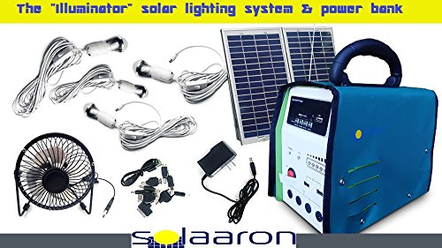 Solar Energy Home Lighting System