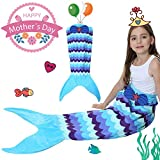 Mermaid Tail Blanket for Kids,Soft All Seasons Seatail - Best Reviews Guide