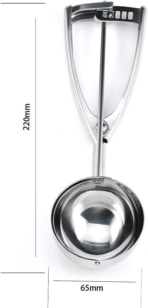 Andux Zone Edelstahl Eisl/öffel BQLS-01 50mm