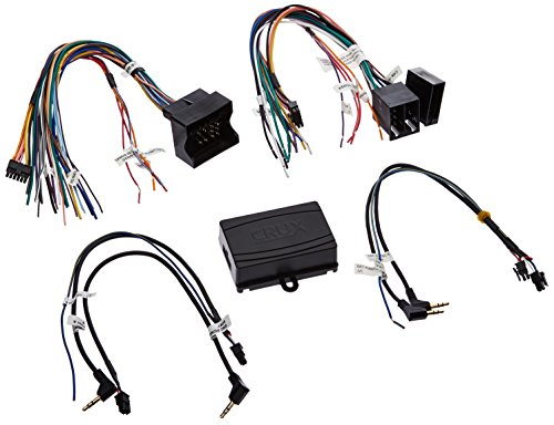 (CRUX SWRBM-57 Radio Replacement with SWC Retention (Mercedes, BMW, Porsche and Smart Vehicles) )