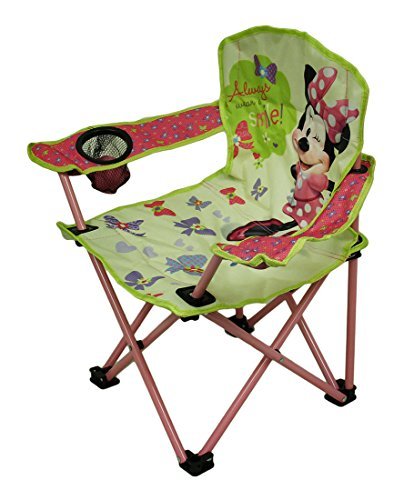 Disney Kids Minnie Bowtique Camp Chair HomeGoodsReview