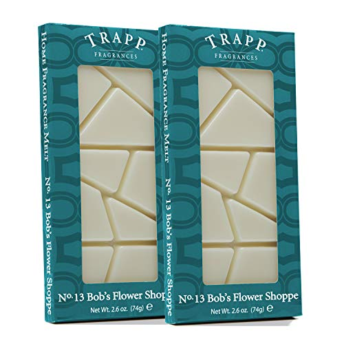 Trapp Home Fragrance Wax Melts - No. 13 Bob's Flower Shoppe, 2.6 oz (2 Pack)