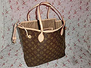 4. Neverfull Monogram Tote Bag MM by Louis Vuitton