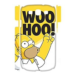 QSWHXN Cover Custom New Pattern Printing The Simpsons Phone 3D Case For Samsung Galaxy S3 I9300 [Pattern-4]