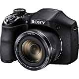 "Sony DSCH300B 20.1 Digital Camera with 3"" LCD, Black"