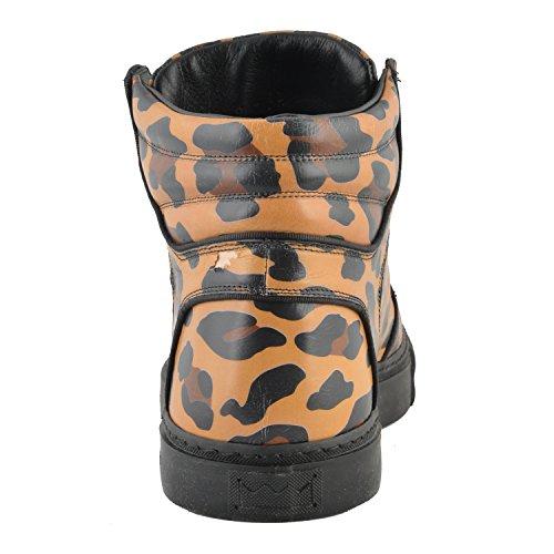 Marc Jacobs Mens Flerfärgade Läder Höga Bästa Modegymnastikskor Oss 10 Den 43