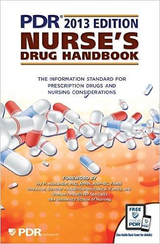 pdr nurse s drug h andbook 2013 pdr staff