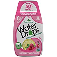 SweetLeaf Waterdrops, Raspberry Lemonade, 1.62 Ounce
