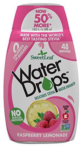 SweetLeaf WaterDrops, Raspberry Lemonade, 1.62 Ounce