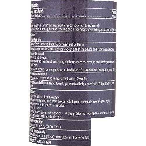 Lotrimin AF Jock Itch Powder Spray 4.60 oz