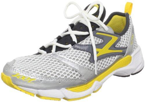 ZOOT OTEC Herren Laufschuhe / Fitnessschuhe / Triathlon Laufschuhe Tri-FIT-Tech (41, weiß silber gelb)