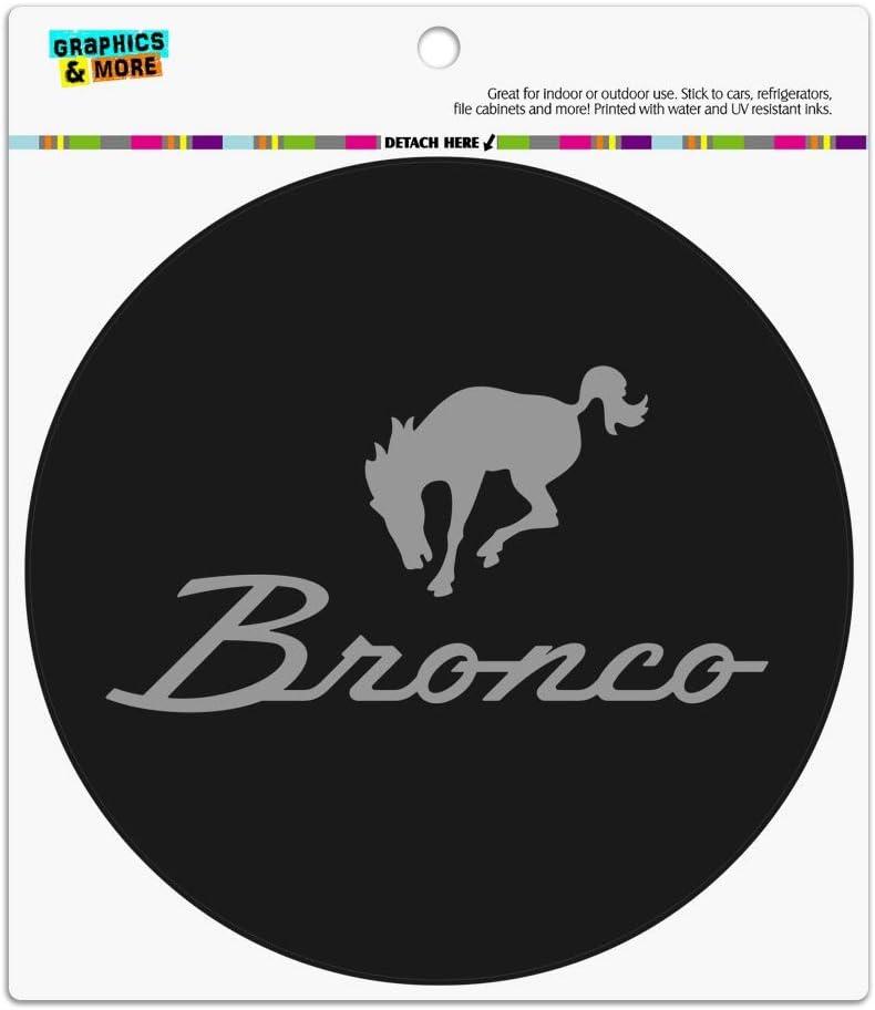 Ford Bronco Chrome Logo Rectangle Acrylic Fridge Refrigerator Magnet