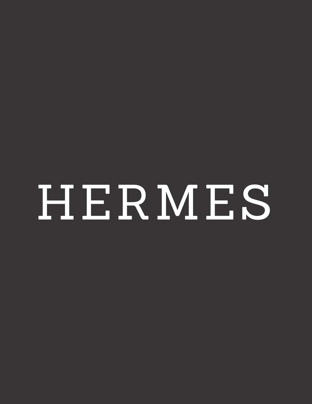 Hermes  A Decorative Book │ Perfect For Stacking On Coffee Tables And Bookshelves │ Customized Interior Design And Home Decor  Designer Book Series   Black Band 23