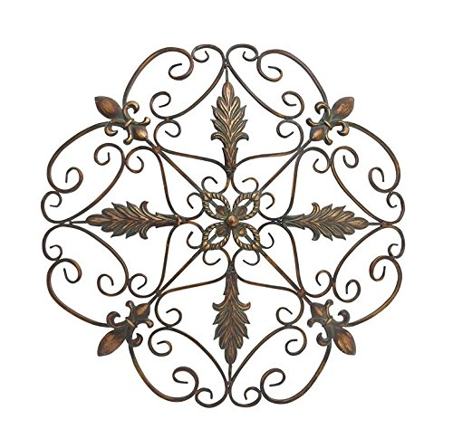Deco 79 96946 Metal Wall Decor, 29""