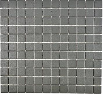Mosaique Pour Carrelage Ceramique Gris Metal Pour Revetement