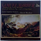 Samuel Barber: Symphony No. 1 in One Movement / Essays for Orchestra Nos. 1 and 2 & Night Flight