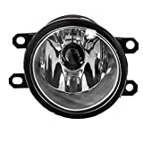 Passengers Fog Light Lamp Replacement for Toyota Scion Lexus SUV 81025-0W020