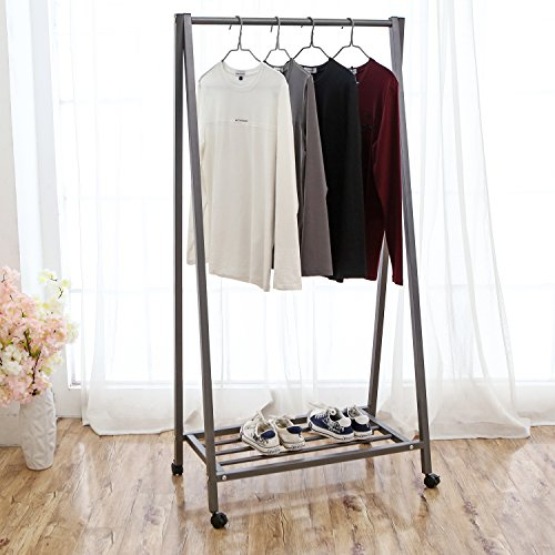 MyGift Rolling Garment Display Clothing