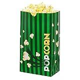 popcorn bags green - Gold Medal Laminated Popcorn Bags, 4.0 oz. (500 ct.)