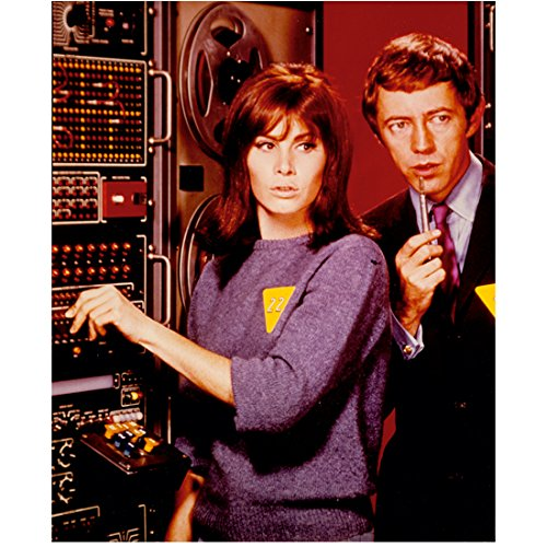 the-girl-from-uncle-stefanie-powers-and-noel-harrison-by-computer-8-x-10-inch-photo