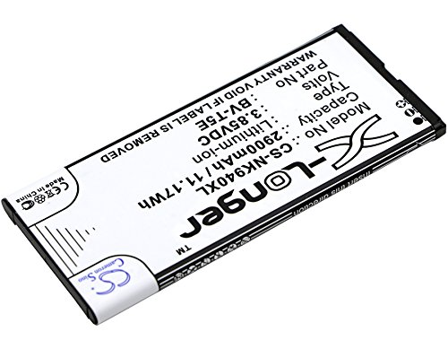 Cameron Sino 4000mAh Replacement Battery Compatible With Microsoft BV-T5E