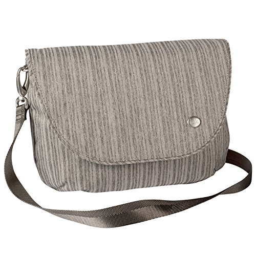 Haiku Bliss Rfid Saddle Bag, Gray Poplar - Saddle Travel Zip Wallet