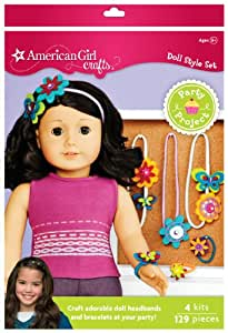 American girl crafts doll accessory party for American girl craft kit