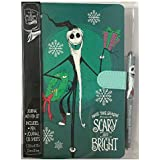 Tim Burtons The Nightmare Before Christmas Make This Season Scary and Bright 25th Anniversary Journal with Pen Set