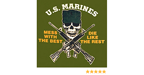 Fox Outdoor Products Marines One-Sided Imprinted T-Shirt