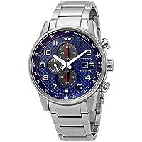 CITIZEN Primo Chronograph Blue Dial Men's Watch