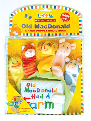 Old Macdonald: A Hand-Puppet Board Book (Little Scholastic) -