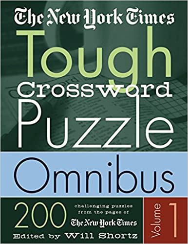 Book The New York Times Tough Crossword Puzzle Omnibus: 200 Challenging Puzzles from the New York Times: 1 (New York Times Tough Crossword Puzzles)