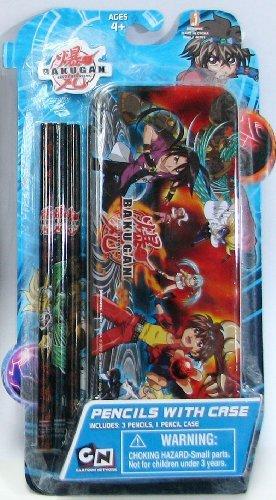 Bakugan Pencils with Case