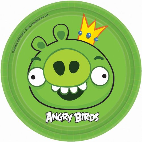 Angry Birds Dessert Plates (Angry Birds Plates)