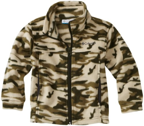 Columbia Little Boys' Zing Print Full Zip Fleece