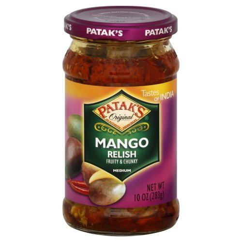 Medium Mango Relish - Net Wt. 10 oz.