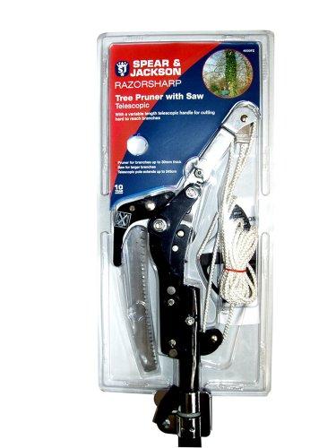 -[ Spear & Jackson W223 Razorsharp Telescopic Tree Pruner  ]-