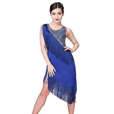 Qianren - Falda de Baile para Mujer y niña, con Lentejuelas, con ...