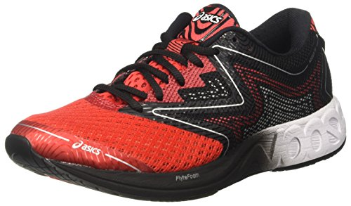 Asics Noosa Ff, Zapatillas de running Multicolor (Vermilion/White/Black)