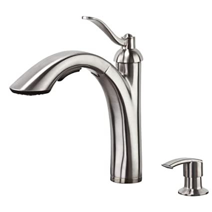 Price Pfister F 534 Pars Rembrandt Pullout Kitchen Faucet With Soap