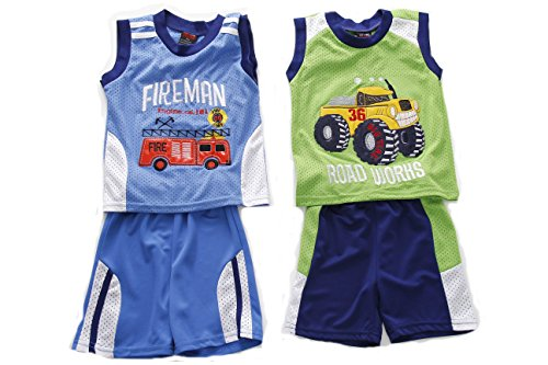 Dino Short - At The Buzzer 44016-2T Two Piece Short Set (Pack Of 2)