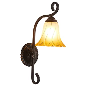 Lampe FrontaleCréatif Rural Chambre Hjhy® Seule Américain 8v0wONmn