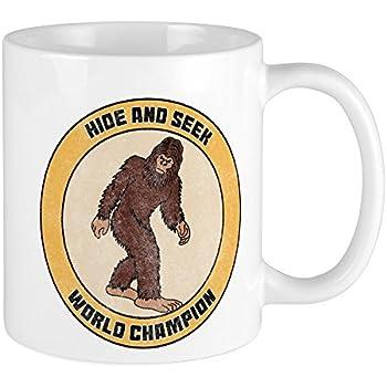 5f261d0c Amazon.com: CafePress Bigfoot Sasquatch Hide And Seek World Champion ...