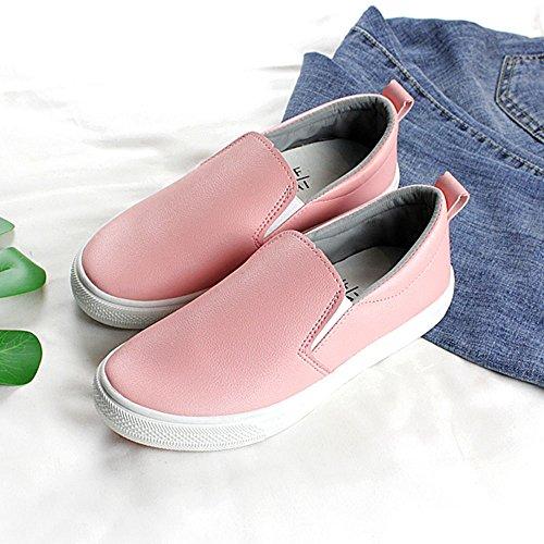 Rose cn37 Coréenne Simples Chaussures Version 5 uk4 Respirant Femmes Taille Nan Paresseux Couleur D'été Blanches Eu37 5 xw4SaIq
