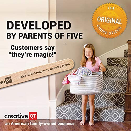 toys, games,  learning, education 9 on sale Creative QT Chore Sticks for Kids - Make Chores in USA