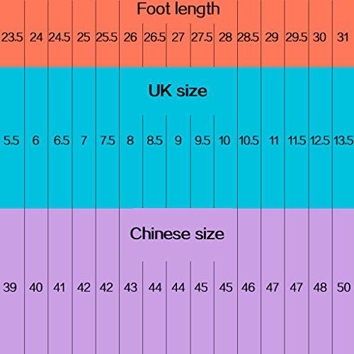 versione basse Size uomo Blue Scarpe casual da di 38 Color Black selvaggio da uomo tela YaNanHome Scarpe Espadrillas scarpe da estate basse scarpe stoffa scarpe del uomo di coreana FwaAnPxq