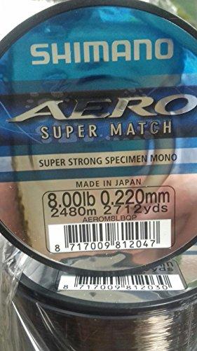 Shimano Aero Match QP Fishing Line 2480m 0.22mm (Shimano Match)