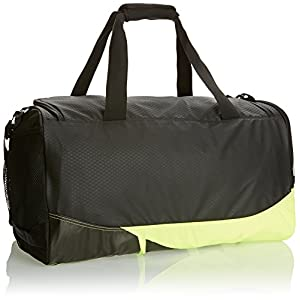 Nike Air Max Vapor Duffel Bag, Black/Volt